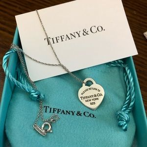 Sterling silver Tiffany & Co. necklace